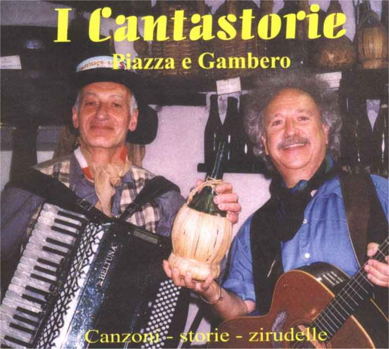Acquista il CD del Duo dei Cantastorie